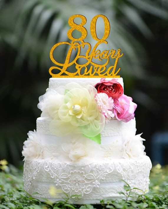 Birthday Party Ideas For 80 Year Old Woman  1000 ideas about 80th Birthday Cakes on Pinterest