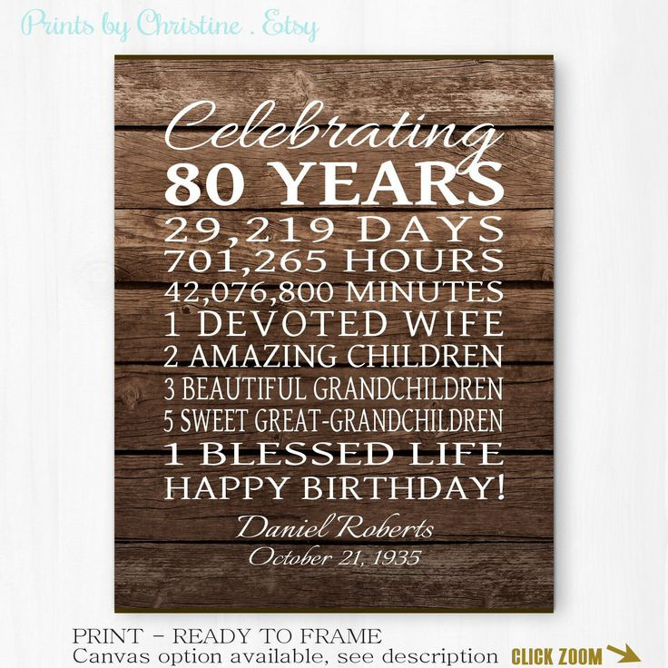 Birthday Party Ideas For 80 Year Old Woman  17 Best images about Birthday Gift Ideas on Pinterest