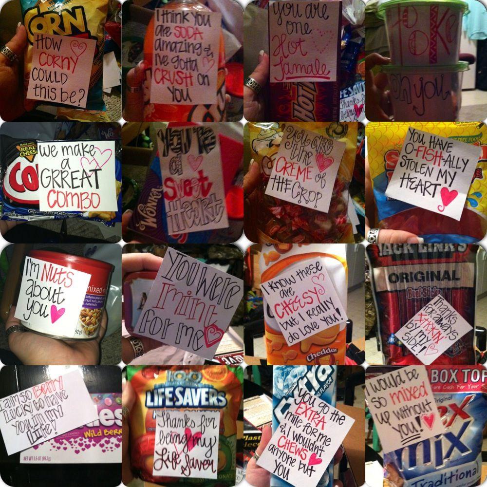 Boyfriend Gift Ideas Pinterest  Valentines t love my boyfriend Stuff I Made