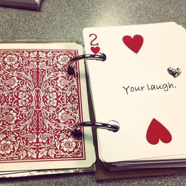 Boyfriend Valentine Gift Ideas  The inside of the Valentine s Day t for my boyfriend