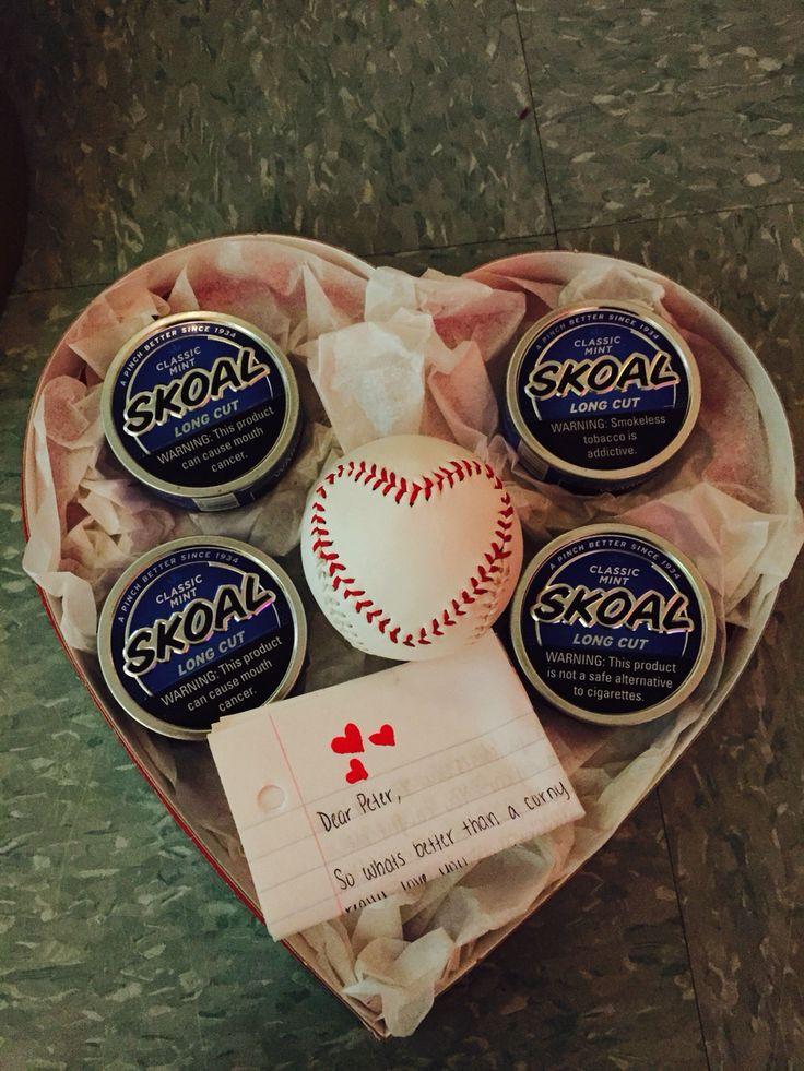 Boyfriend Valentine Gift Ideas  Valentine s Day t for him baseball girlfriend