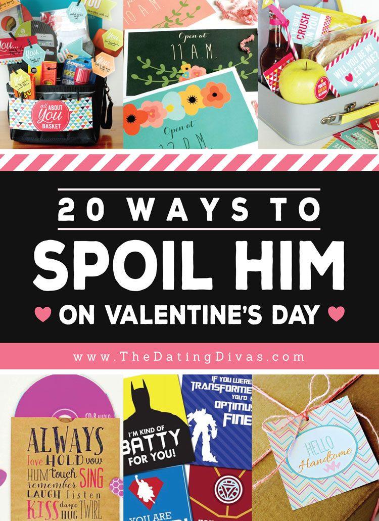 Boyfriend Valentine Gift Ideas  86 Ways to Spoil Your Spouse on Valentine s Day