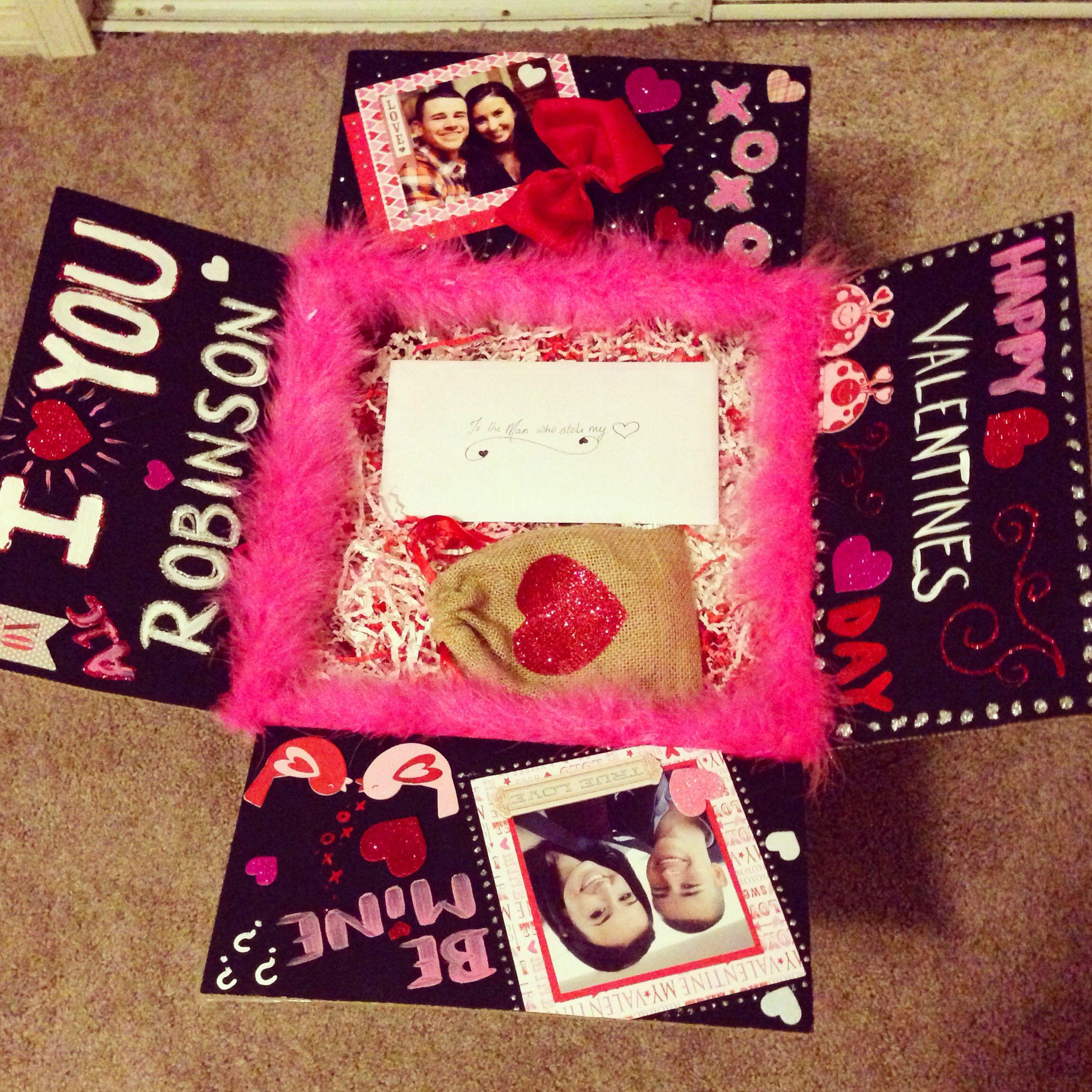 Boyfriend Valentine Gift Ideas  USAF Valentines day long distance idea DIY Air Force Love