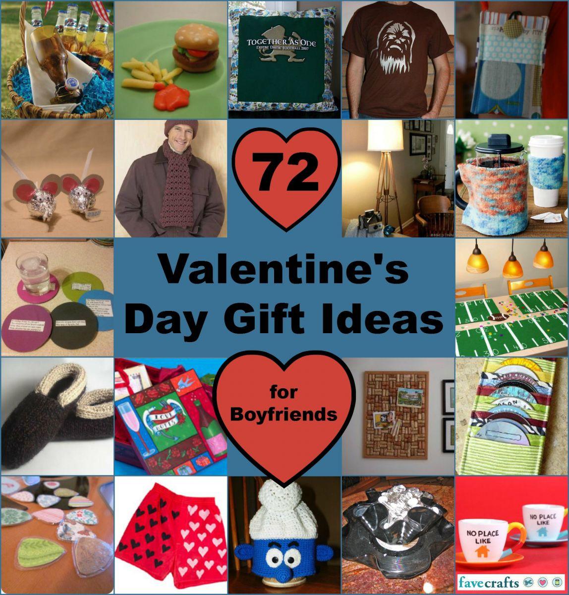 Boyfriend Valentine Gift Ideas  72 Valentine s Day Ideas for Boyfriend