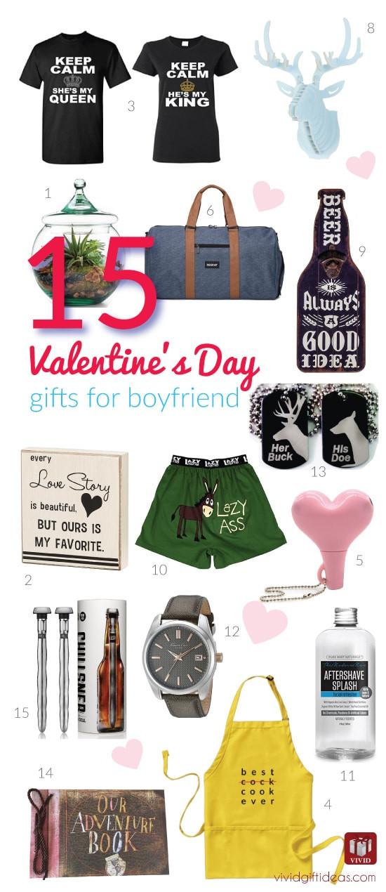 Boyfriend Valentine Gift Ideas  15 Valentine s Day Gift Ideas for Your Boyfriend Vivid s