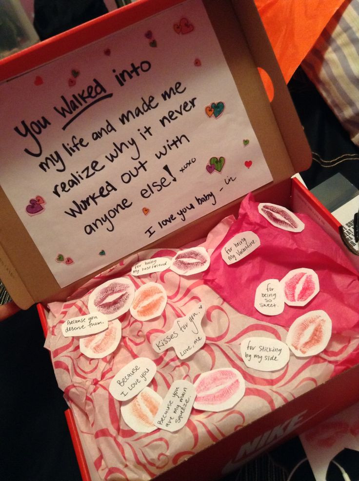 Boyfriend Valentine Gift Ideas  You can never go wrong with shoes for a Valentine t for