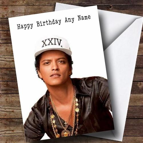 22 Best Ideas Bruno Mars Birthday Card