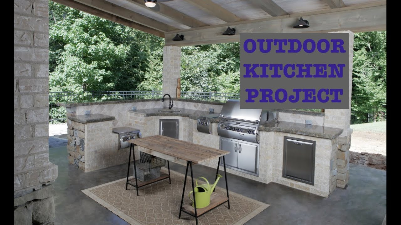 Build An Outdoor Kitchen  Building An Outdoor Kitchen