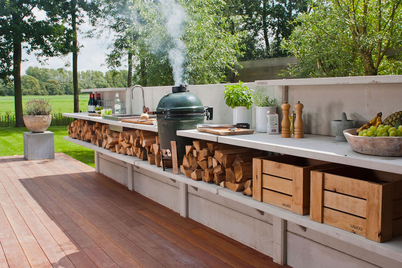 Build An Outdoor Kitchen  15 Outdoor Kitchen Designs That You Can Help DIY