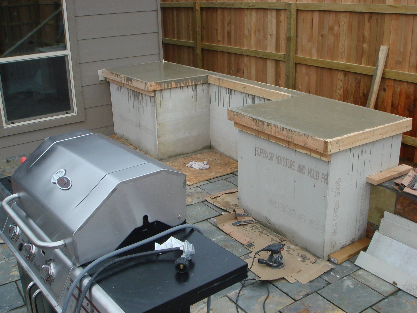 Build An Outdoor Kitchen  How to Build Outdoor Kitchen Cabinets