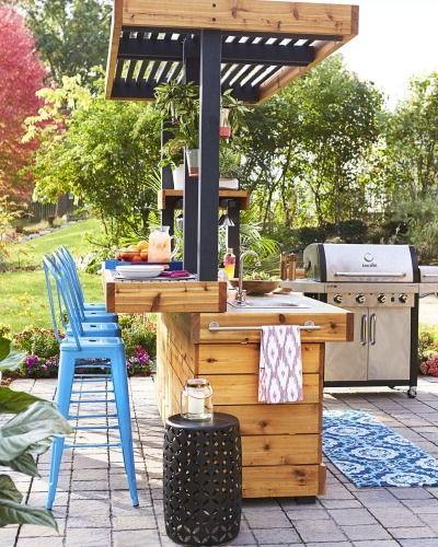 Build An Outdoor Kitchen  Best 25 Diy outdoor kitchen ideas on Pinterest