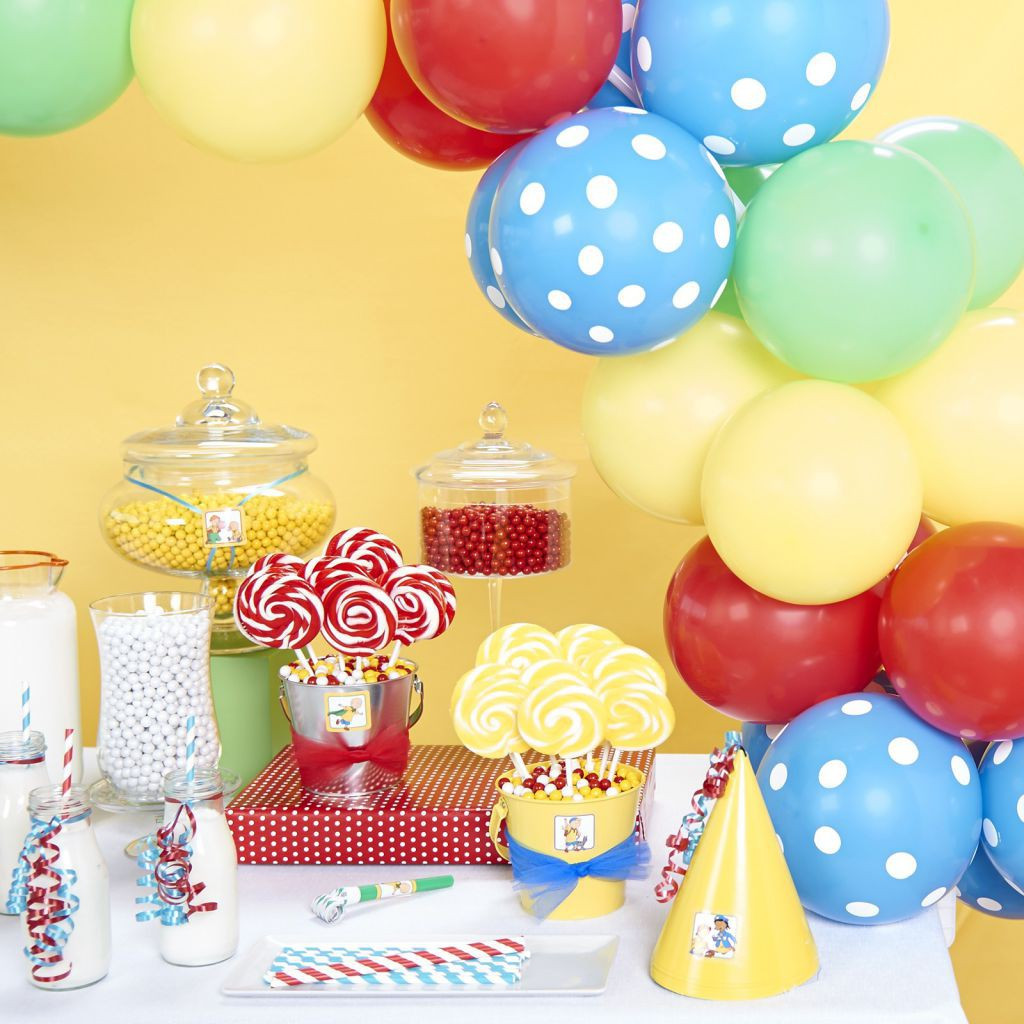 Caillou Birthday Decorations  DIY Caillou Birthday Party