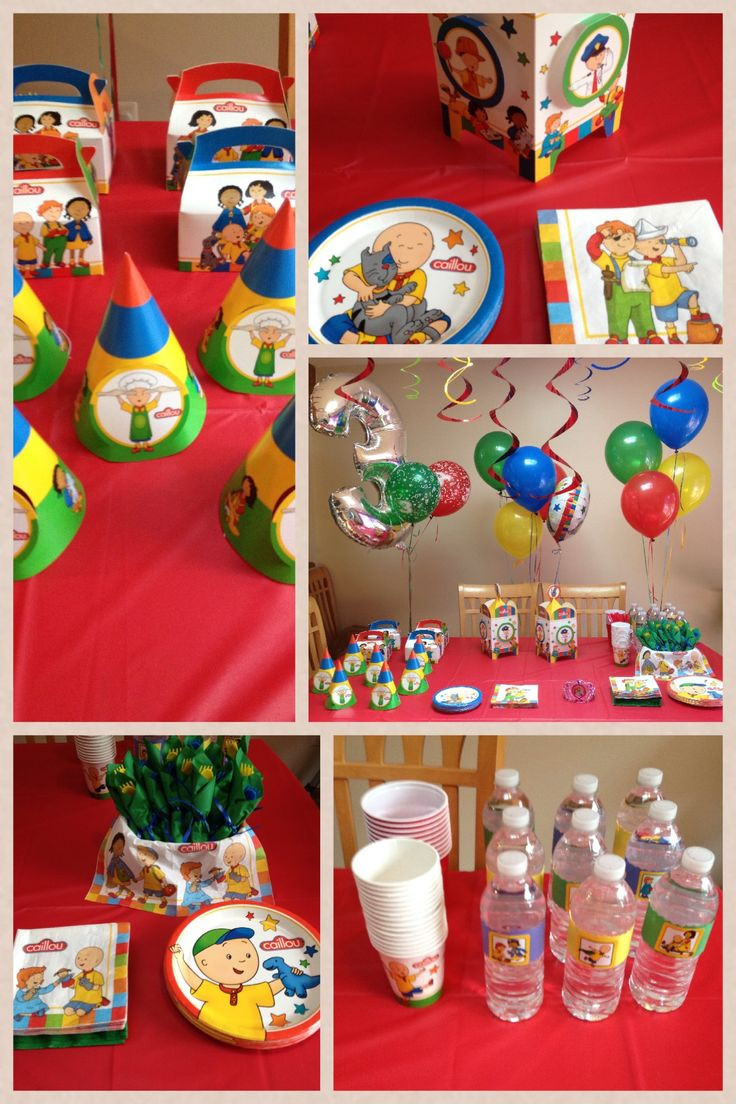 Caillou Birthday Decorations  1000 ideas about Caillou on Pinterest