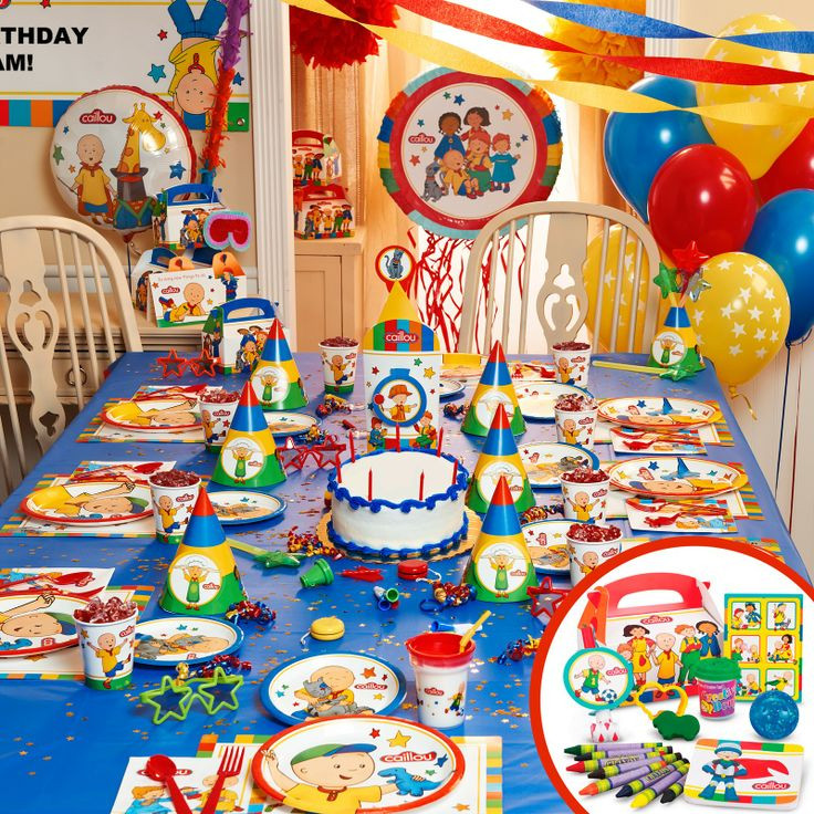 Caillou Birthday Decorations  30 best images about Caillou Birthday Party Ideas