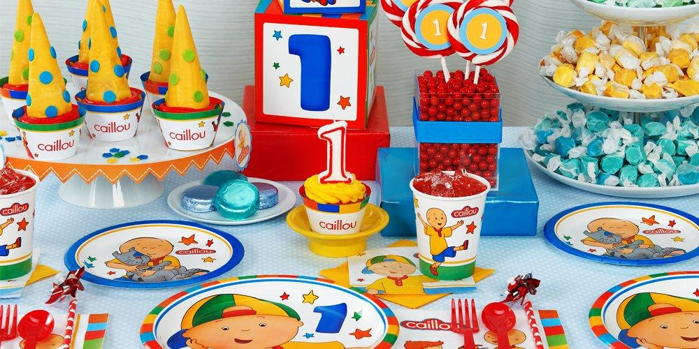 Caillou Birthday Decorations  Caillou 1st Birthday Party Supplies Kids Party Depot