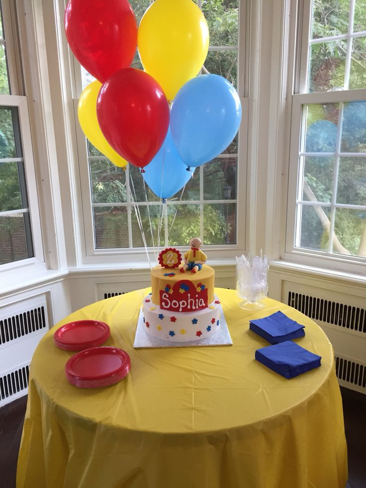Caillou Birthday Decorations  159 best images about Caillou Birthday Fun on Pinterest