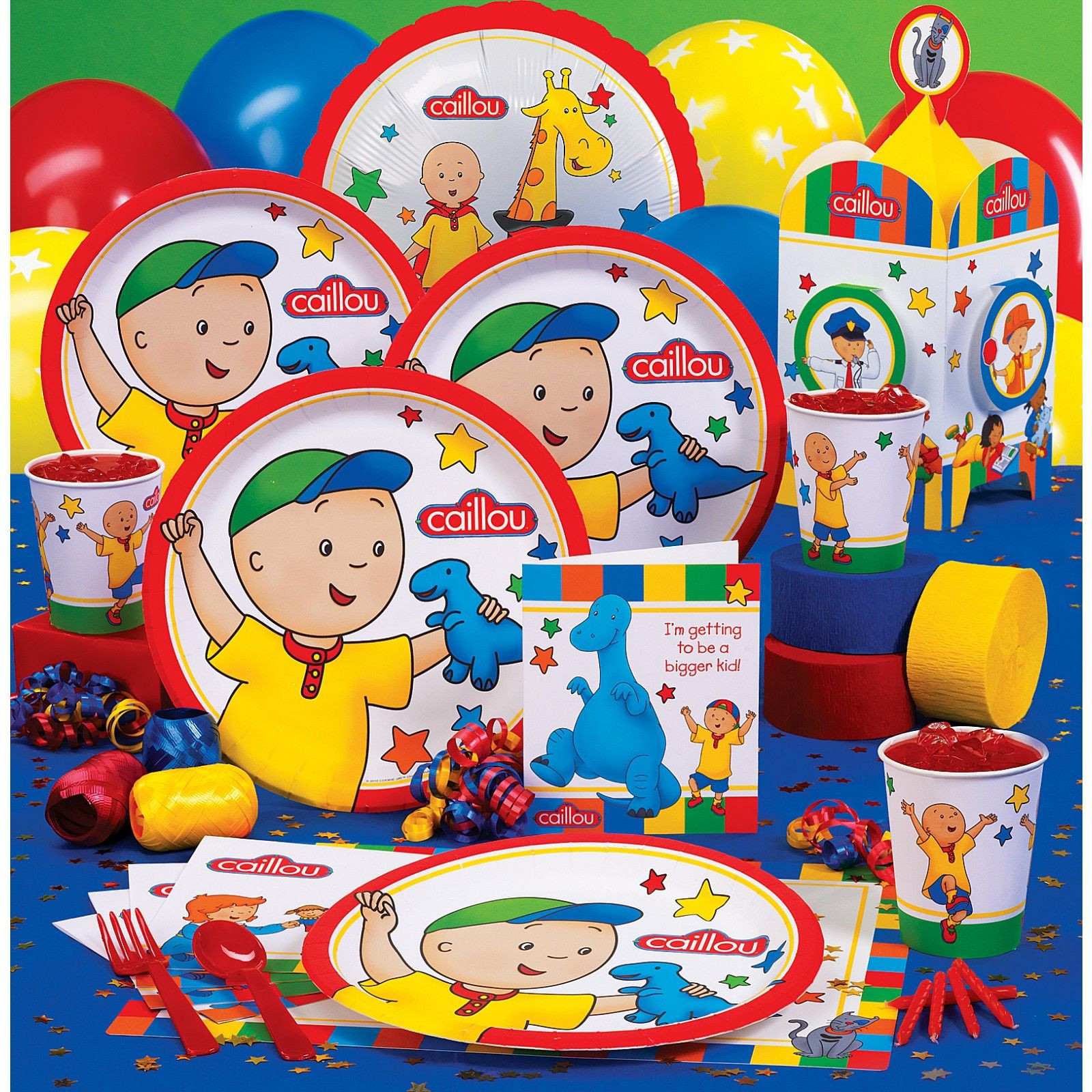 Caillou Birthday Decorations  Caillou Birthday Party on Pinterest