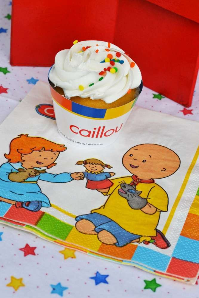 Caillou Birthday Decorations  Caillou Birthday Party Ideas 9 of 33