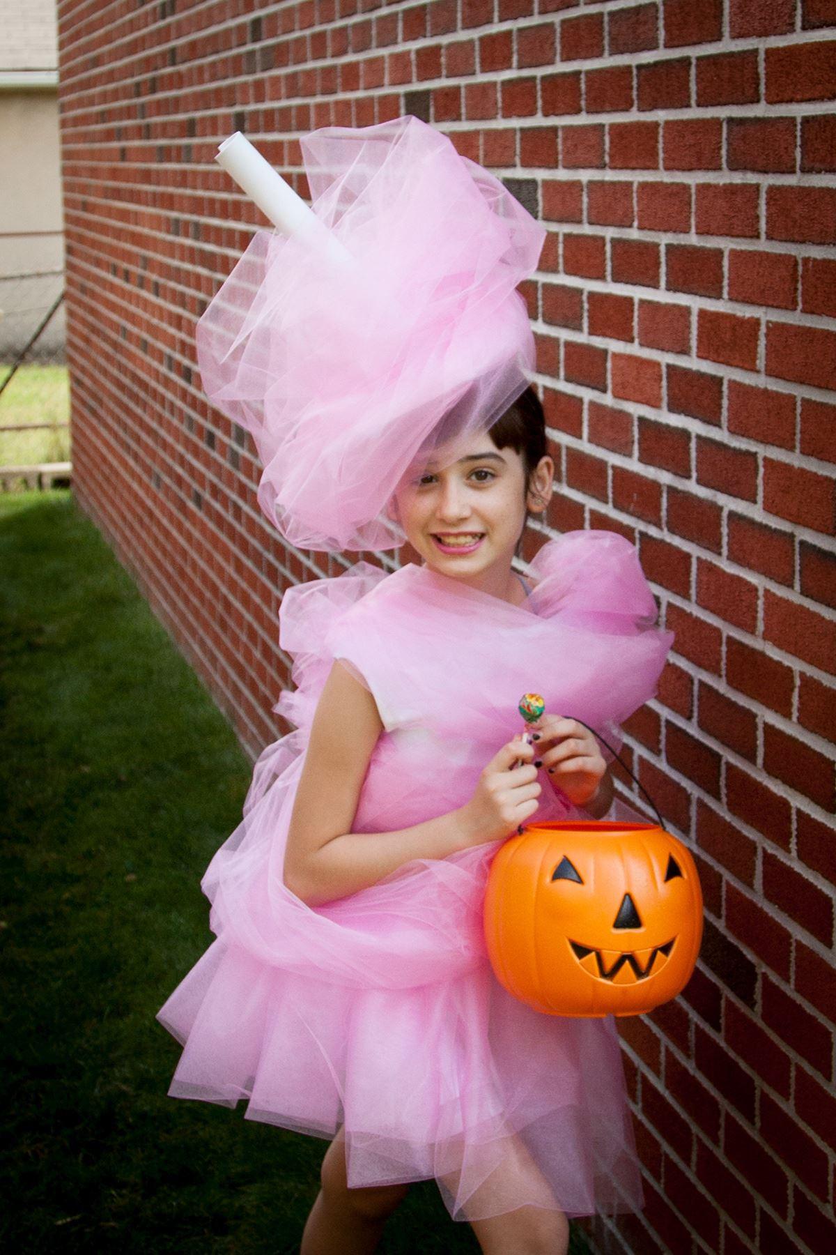 Candy Costumes DIY  Aleene's Original Glues DIY Cotton Candy Costume