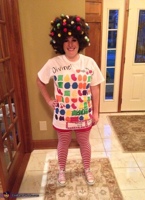 Candy Costumes DIY  DIY Candy Crush Costume