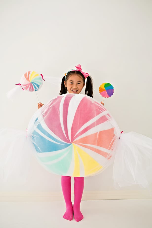 Candy Costumes DIY  DIY NO SEW FELT CANDY COSTUME FOR KIDS