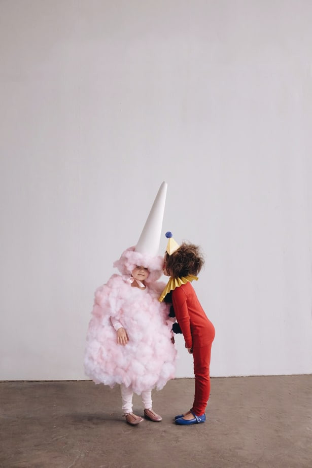 Candy Costumes DIY  AMAZING DIY COTTON CANDY COSTUME FOR KIDS