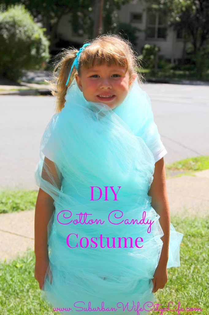 Candy Costumes DIY  DIY Cotton Candy Costume Suburban Wife City Life