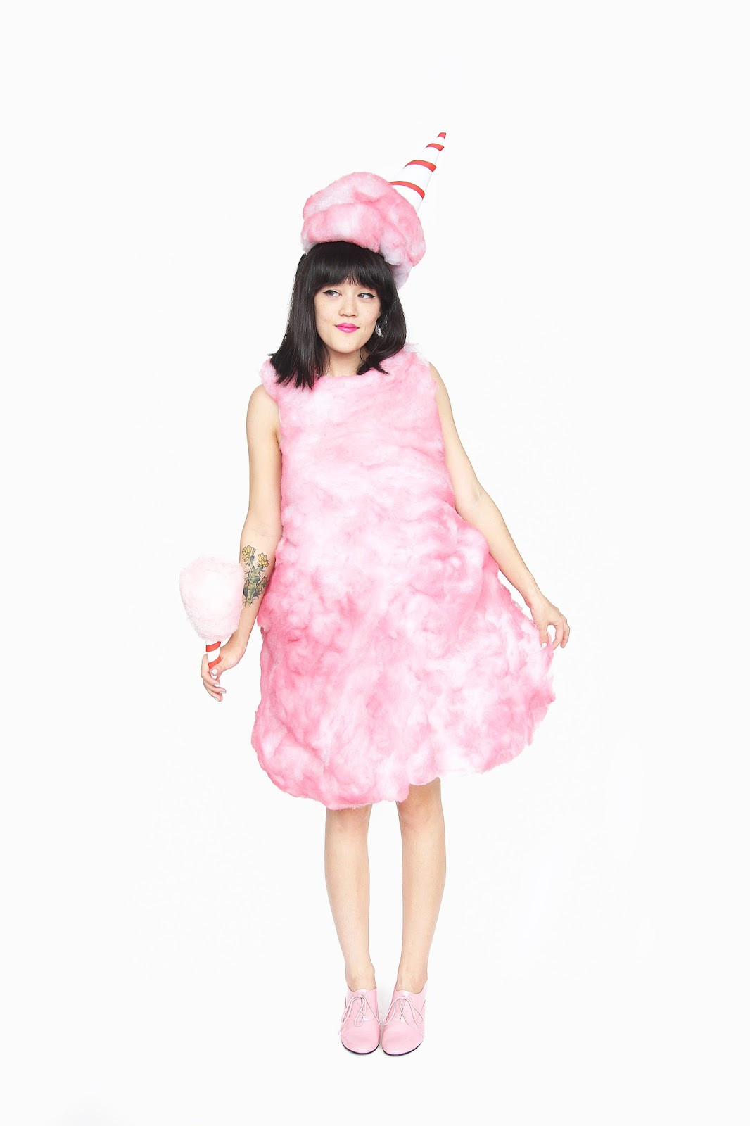 Candy Costumes DIY  Aww Sam DIY Cotton Candy Halloween Costume