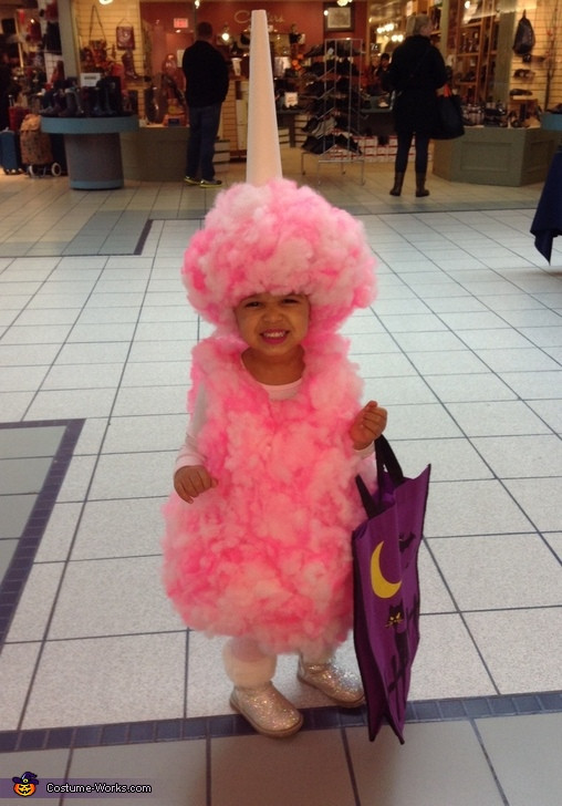 Candy Costumes DIY  Miss Cotton Candy DIY Halloween Costume