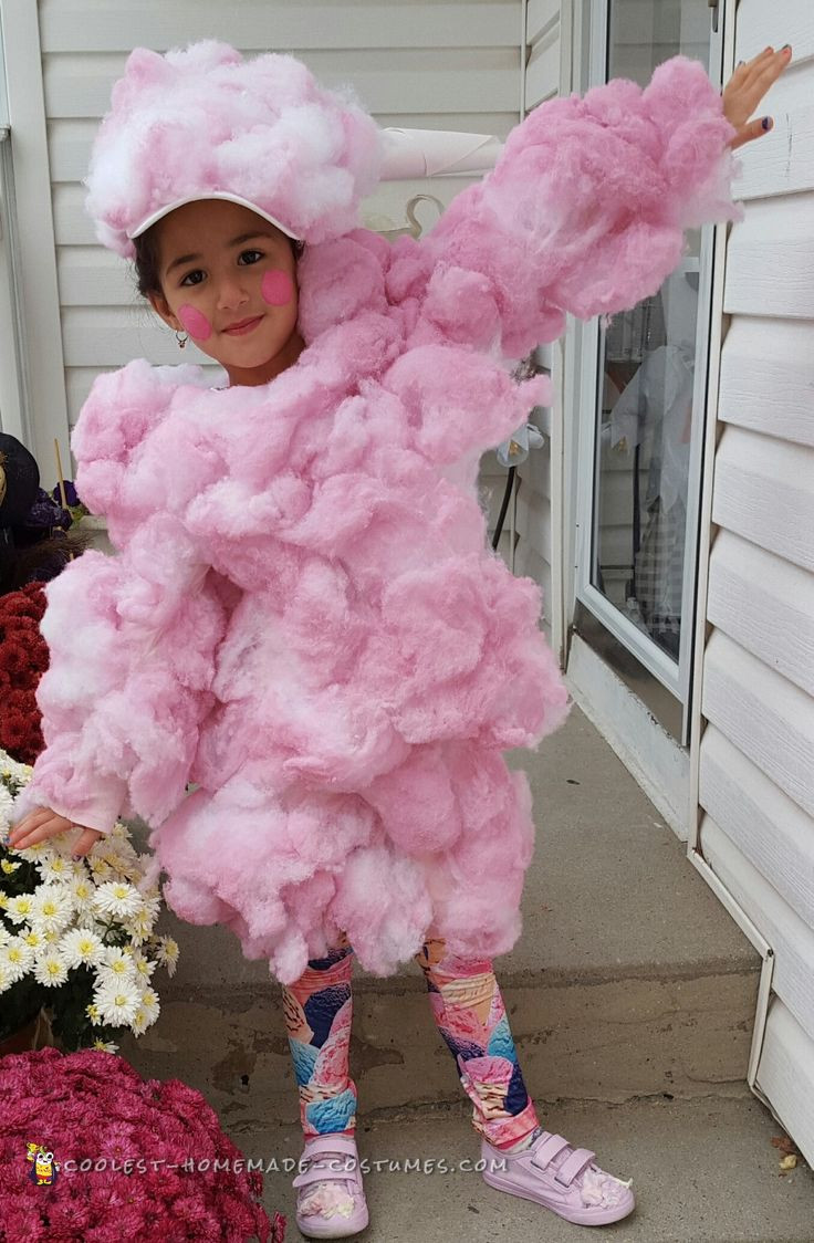 Candy Costumes DIY  Cute Cotton Candy Costume