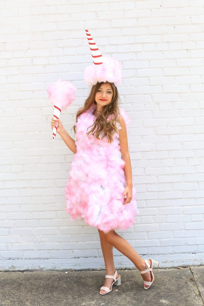 Candy Costumes DIY  25 best ideas about Cotton candy costumes on Pinterest