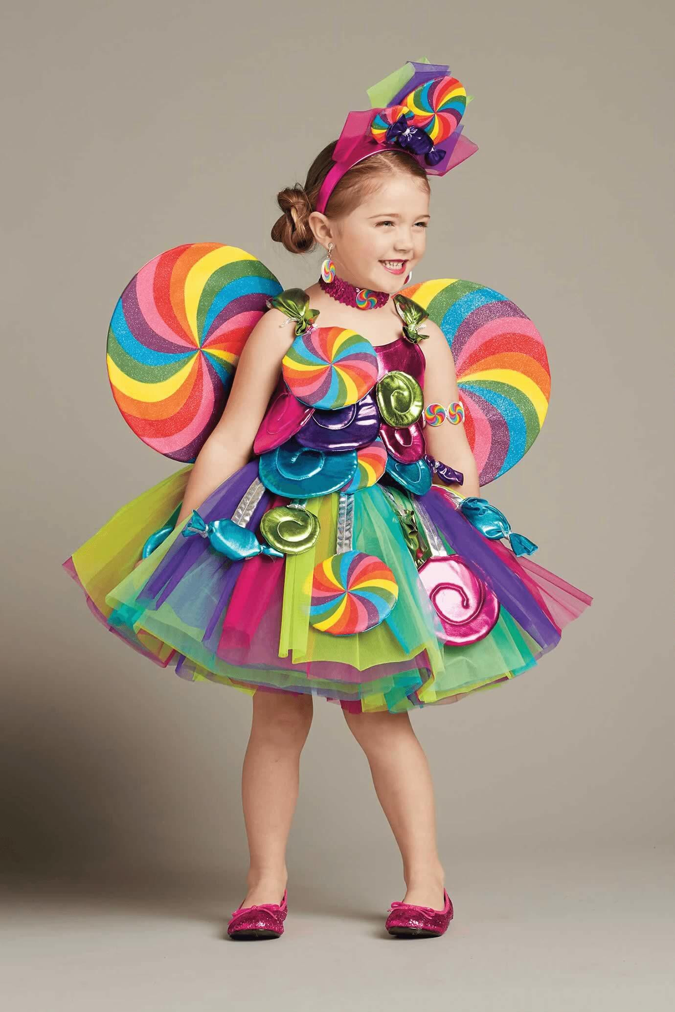Candy Costumes DIY  Candy Fairy Costume for Girls