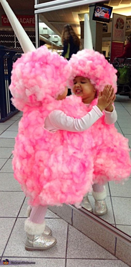 Candy Costumes DIY  Miss Cotton Candy Costume