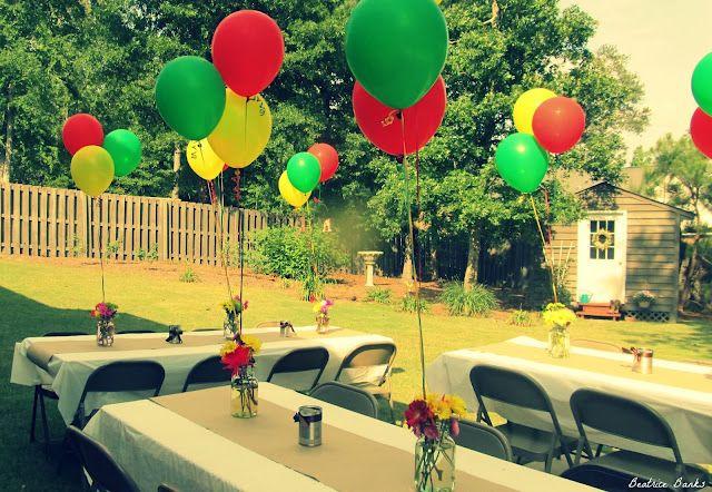 Caribbean Themed Backyard Party Ideas  Beatrice Banks Backyard Party
