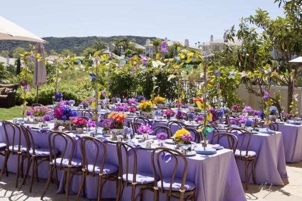 Caribbean Themed Backyard Party Ideas  Kara s Party Ideas Butterfly Themed Bridal Shower
