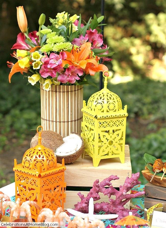 Caribbean Themed Backyard Party Ideas  Tropical Themed Party Ideas FREE Printables