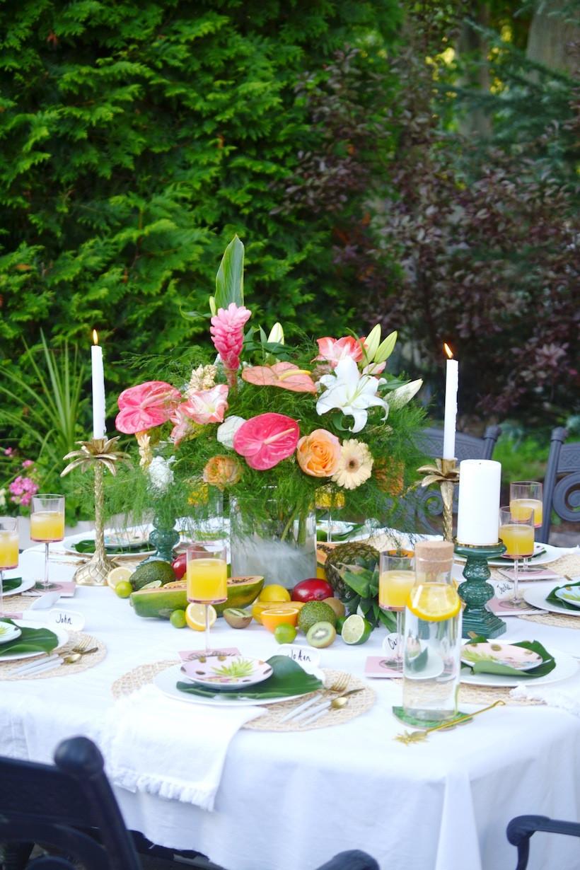 Caribbean Themed Backyard Party Ideas  IDEAS FOR HOSTING A BACKYARD TROPICAL THEMED DINNER PARTY