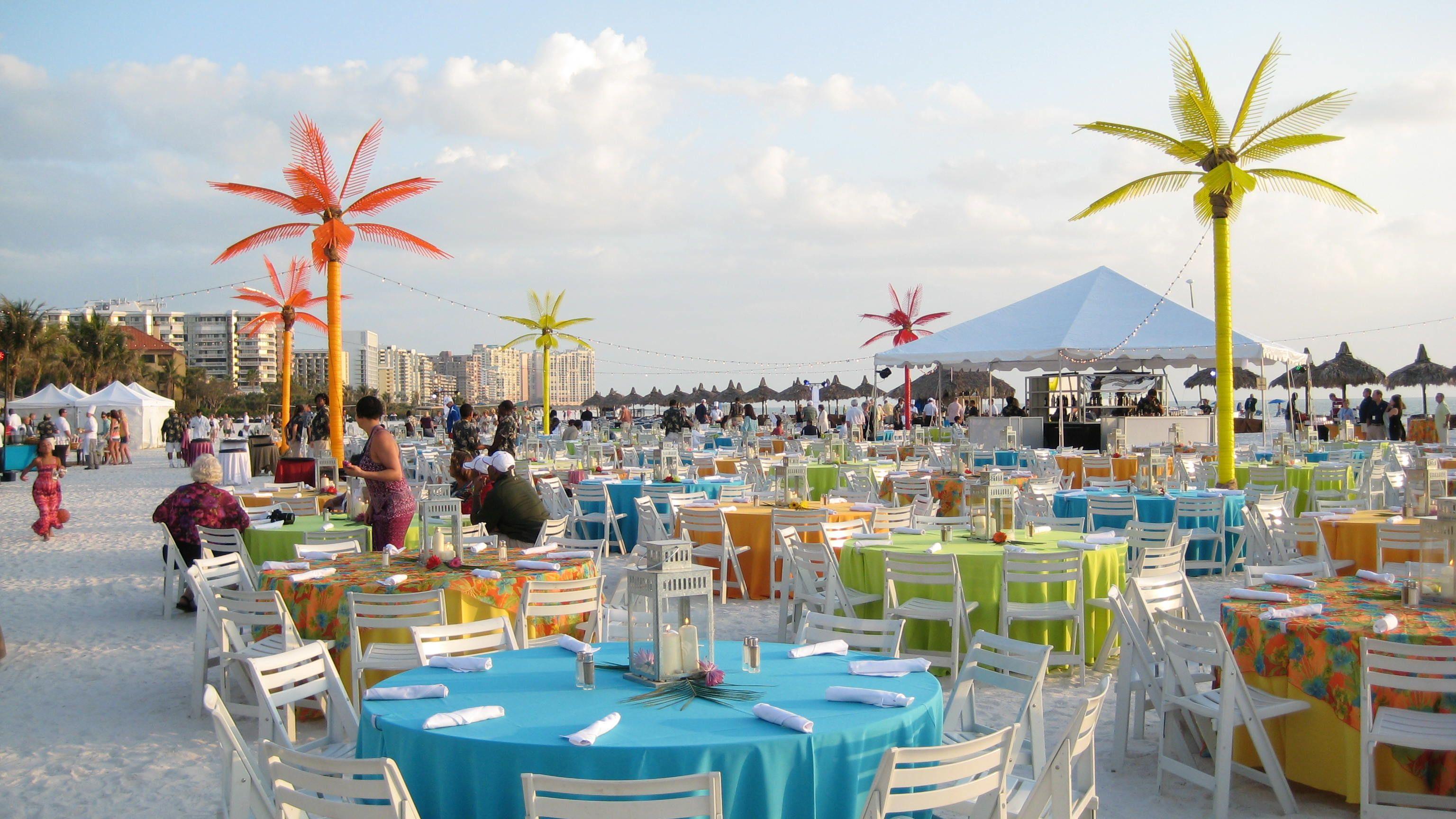Caribbean Themed Backyard Party Ideas  Outdoor Caribbean Beach Themed Event by Wizard Connection