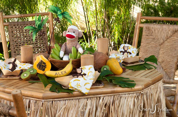 Caribbean Themed Backyard Party Ideas  Island themed kids party ideas Everyday Dishes