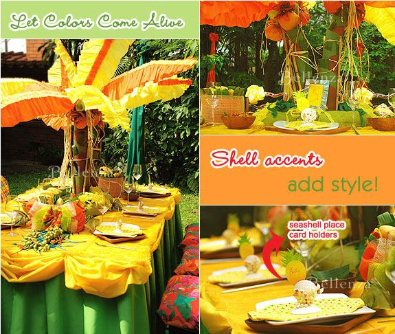 Caribbean Themed Backyard Party Ideas  Jamaican Themed Engagement Party Ideas