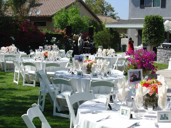 Catering Ideas For Backyard Party  Backyard Wedding Ideas Wedding Ideas
