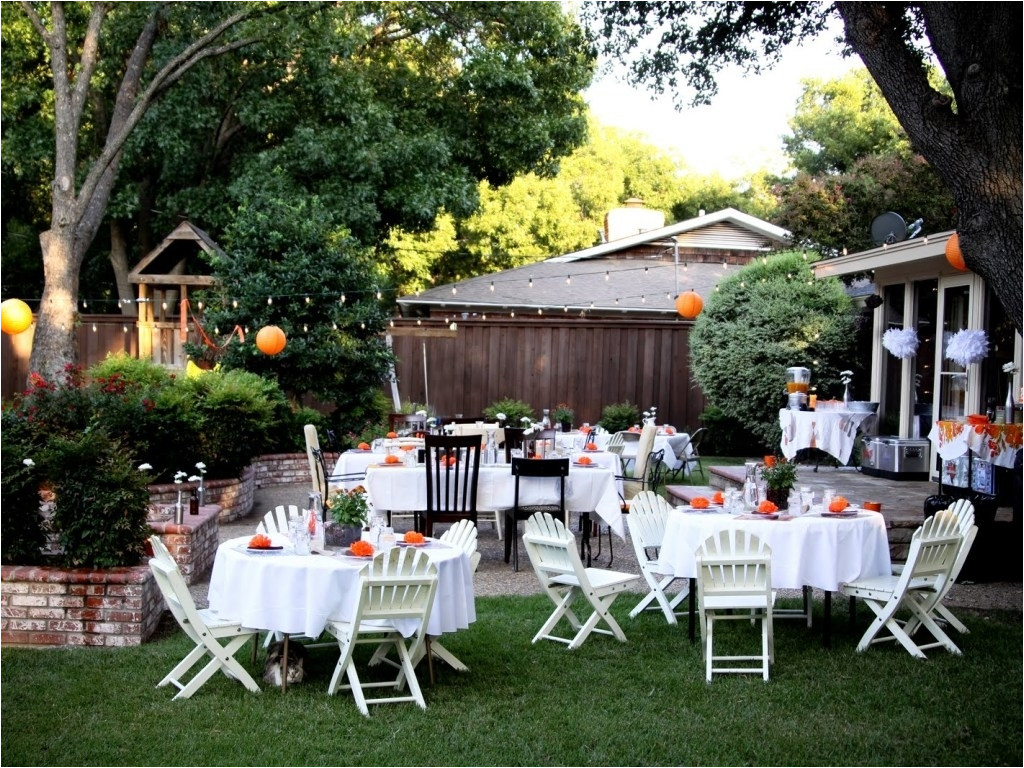 Catering Ideas For Backyard Party  Backyard Wedding Receptions A Bud