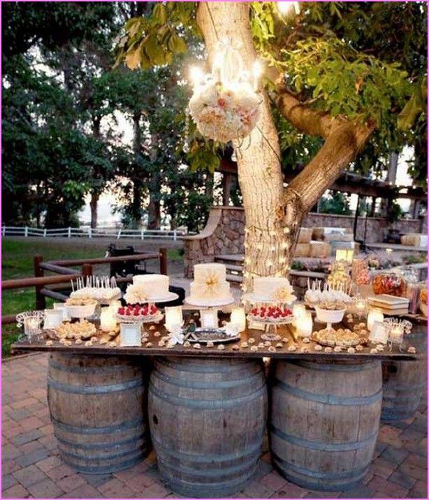 Catering Ideas For Backyard Party  Cheap Backyard Wedding Reception Ideas