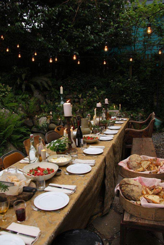 Catering Ideas For Backyard Party  2212 best Alfresco Dining images on Pinterest