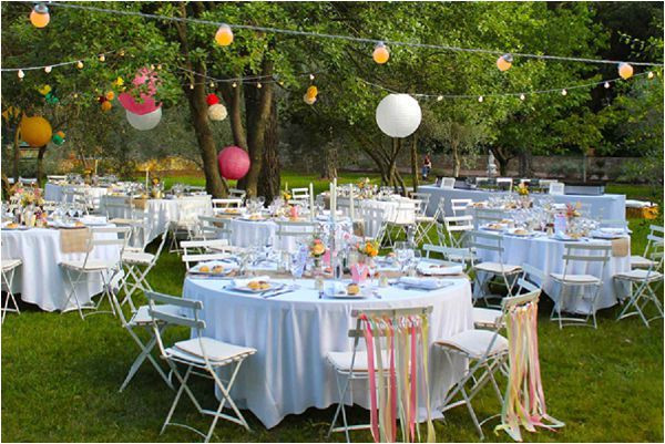 Catering Ideas For Backyard Party  630 best Outdoor Wedding reception images on Pinterest