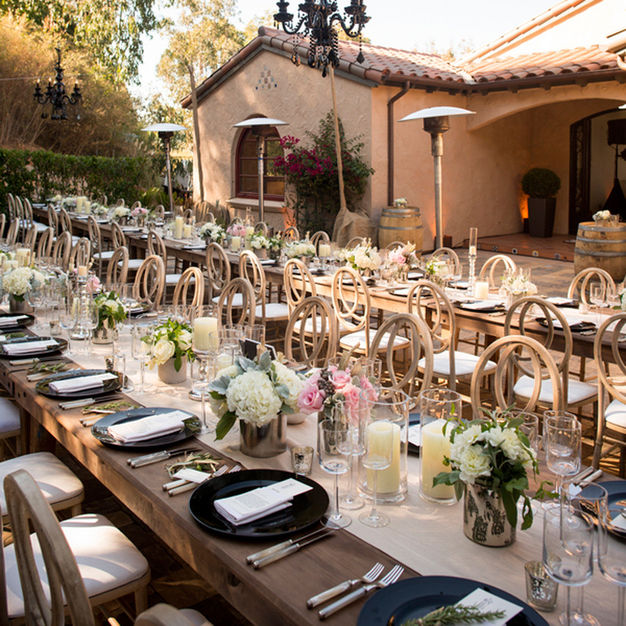 Catering Ideas For Backyard Party  Savvy Deets Bridal Real Weddings Josephine & Erick s