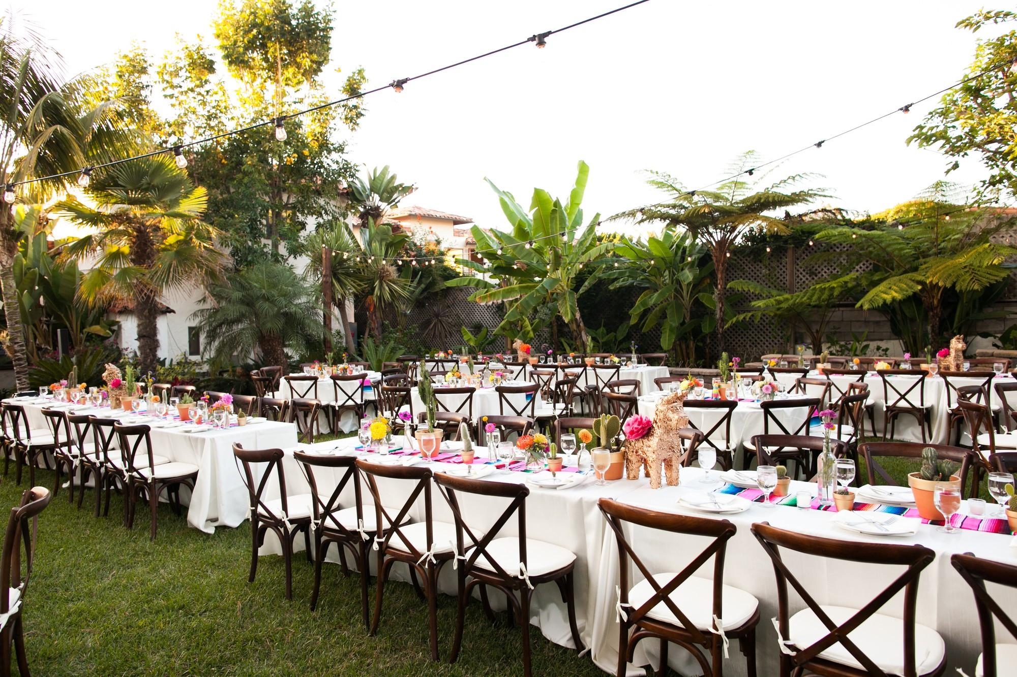 Catering Ideas For Backyard Party  Hacienda Loma Wedding San Diego