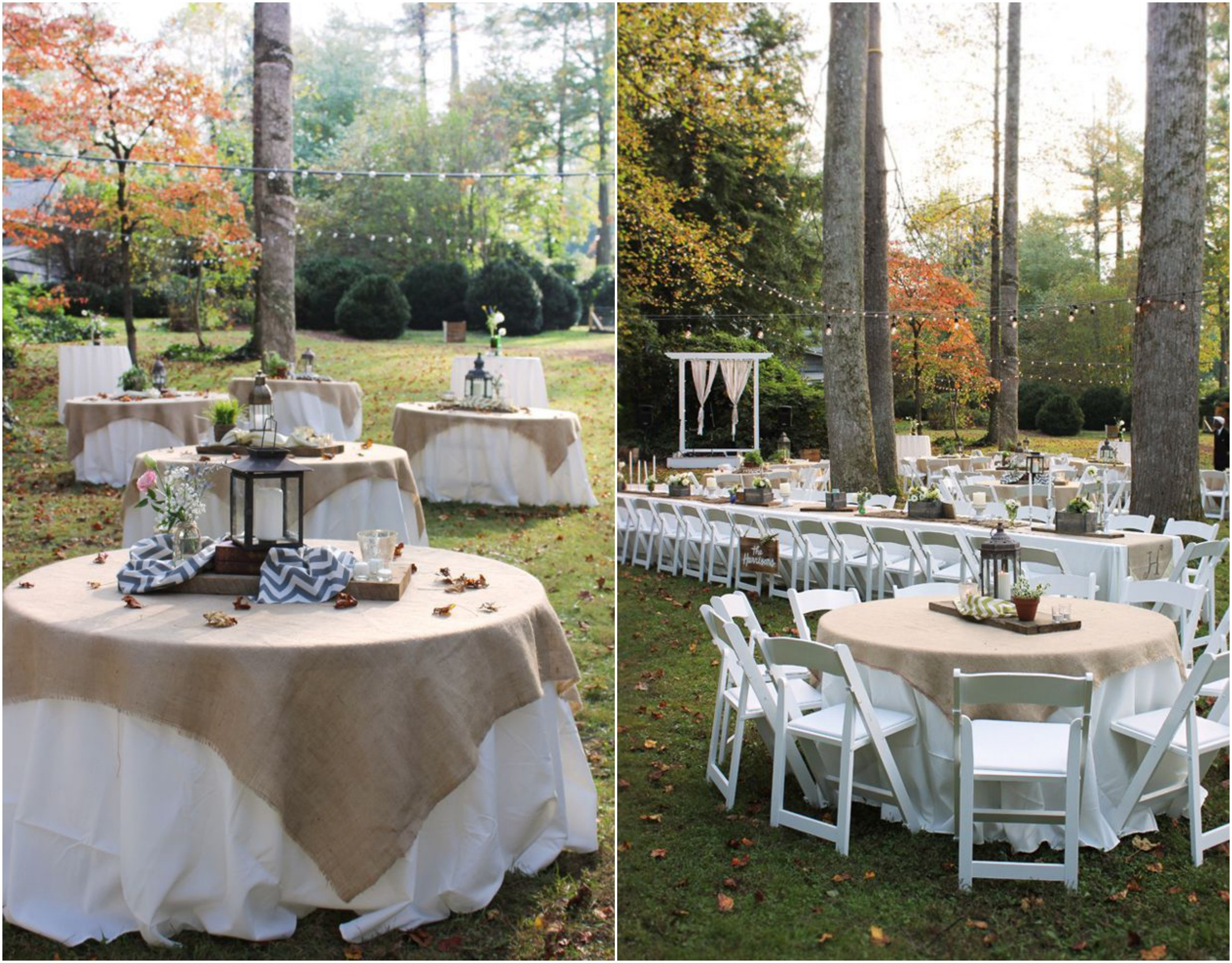 Catering Ideas For Backyard Party  Rustic wedding