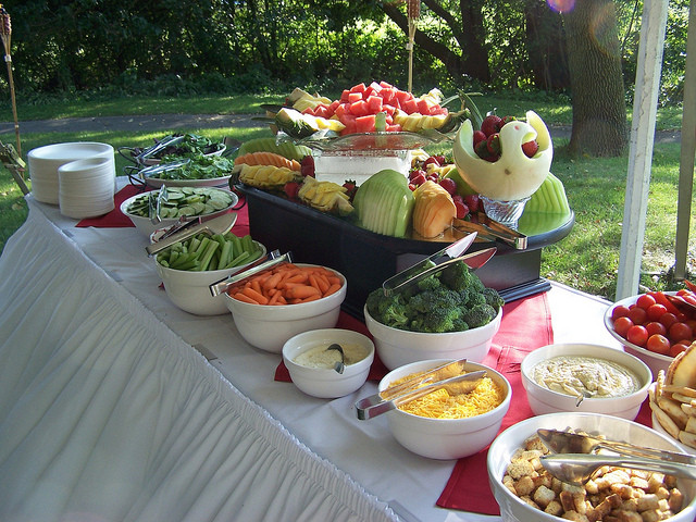 Catering Ideas For Backyard Party  Backyard bbq catering