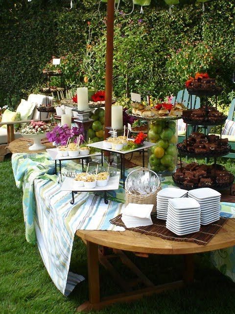 Catering Ideas For Backyard Party  Butler For Hire Catering Food Blog Garden Cocktail Party